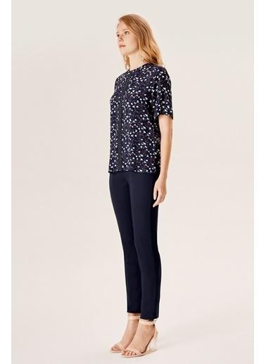 NaraMaxx Boncuk Detaylı Bluz Renkli